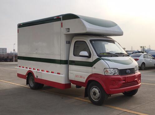 程力威牌CLW5030XSH6RL型售货车