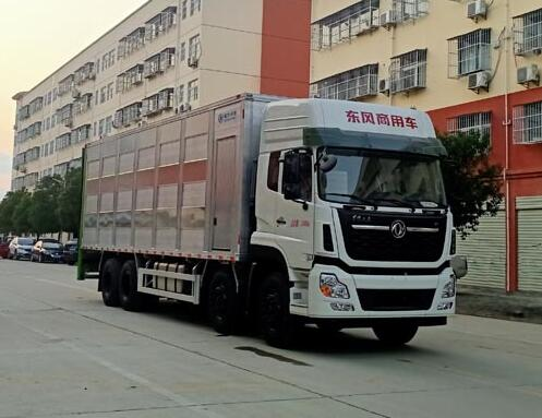 程力威牌CLW5310CCQD5型畜禽运输车