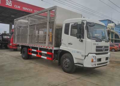 程力威牌CLW5160CCQD5型畜禽运输车